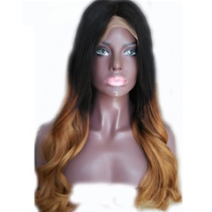 Grace Fantasy Brown to Blonde Brazilian Body Wave Lace Front Wigs Human Hair With Baby Hair Glueless Lace Front Wigs Remy Human Hair Wigs For Black Women Pre Plucked Wig