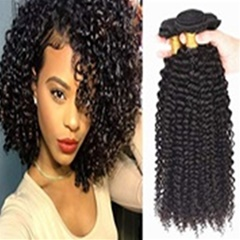 Best quality fashion Mongolian curly hair extensions afro kinky curly virgin hair mongolian human curly hair weave 8''-30'' instock