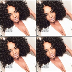 Curly lace wigs Synthetic Lace Front Wigs Loose Curly Hair Twist Lace Front Wigs for black women Curly With Baby Hair Middle Part