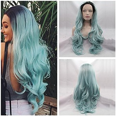 "Celebrity Kylie Wigs Long Lace Front Synthetic Hair Wigs With Baby Hair Pre Plucked Natural Hair Wigs for black women Medium Size Cap(22-22.5"")"