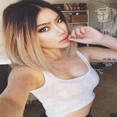 Shoulder Length Three Tone Ombre Black to Brown to Blone Bob Wigs Heat Resistant Fiber Synthetic Lace Front Wigs for Women Makeup