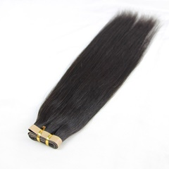 Natural Black Tape adhesive hair extensions 20pcs/set skin weft hair extensions 12''-26'' Silky Straight Tape in Human Extensions
