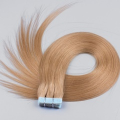 Top quality Blonde tape in human hair extensions 20pieces/50g tape hair extensions skin weft seamless hair 22''