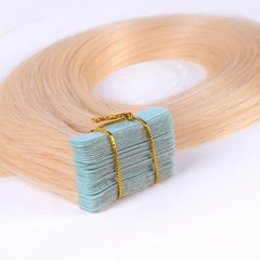 Free shipping 22inch #27 Skin Weft Hair Extensions Virgin Remy Hair Tape Hair Extensions 20pcs/set
