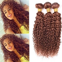 Grace Fantasy Unprocessed Cheap Wholesale Virgin Hair Mongolian Hair Extension #30 kinky curly Human Hair Weft