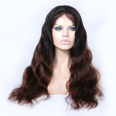 Grace Fantasy Water Wavy Free Part Lace Frontal Wigs With Baby Hair Human Hair Wigs Glueless For Black Women Wigs Ombre Color
