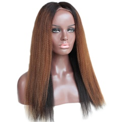 Ombre Black to Blonde Wigs Lace Front Wigs Human Hair Wigs for Black Women Brazilian Long Hair Wigs Full lace Wigs Ombre Color
