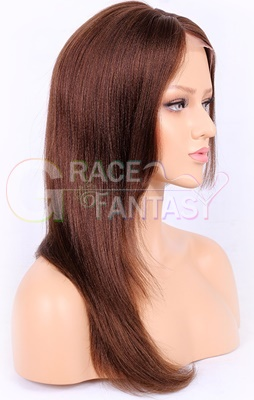 Human Hair Wigs Natural Color Pre Plucked Glueless Lace Wigs