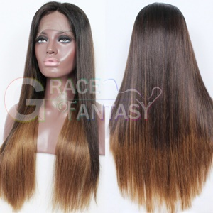 Grace Fantasy Brown to Blonde Lace Front Wigs