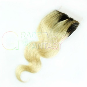 #613 Blonde Peruvian Lace Front Closures