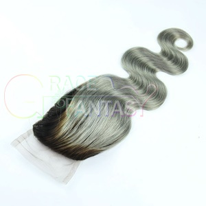 Body Wave Lace Closures with Bleached