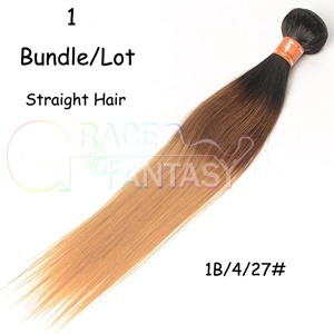 Extensions 8A Grade Natural Black to Brown to Blonde Color