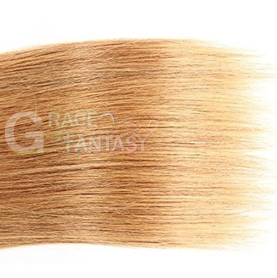 Virgin Hair Extensions 8A Grade Natural Black to Brown to