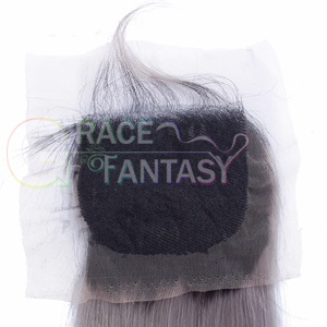 Straight Free part Blonde Top Hair Closure