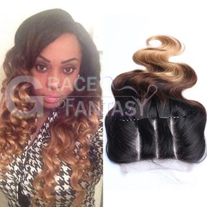 #1B #4 #27 Three Tone Body Wave