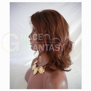 Natural Brown Color with Baby Hair