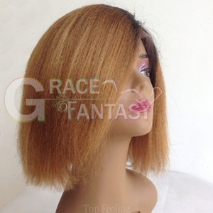 Blonde with Baby Hair Natural Straight for Black Women