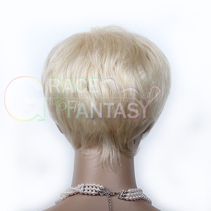 Natural Blonde with Baby Hair Natural Straight for Black Women