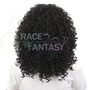 Synthetic Curly Hair lace front Wigs