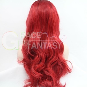 sale black ombre red synthetic wigs black women