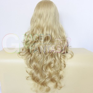 long synthetic lace front wigs