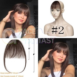 Human hair different color black brown