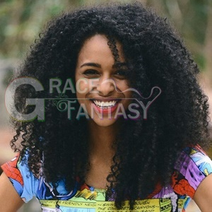 Kinky Curly Synthetic Lace Wigs