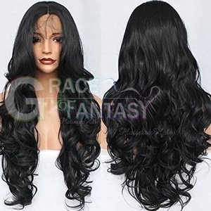 heat resistant synthetic lace front wigs