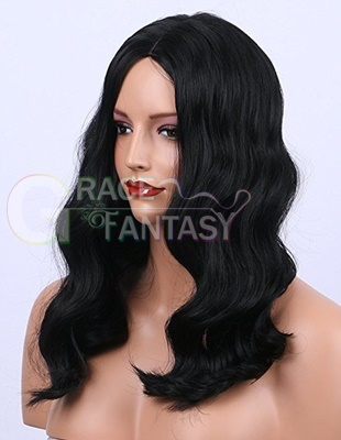 Loose Wavy synthetic lace front wig