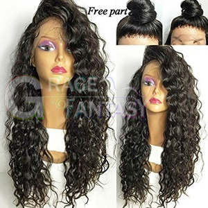 ombre synthetic lace front wigs
