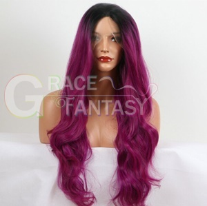 Wavy Synthetic Lace Front Wig