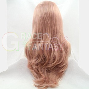Wavy Lace Front Wigs Synthetic Hair Heat Resistant