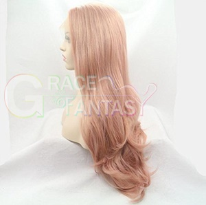 Natural Looking Synthetic Lace Front Wigs