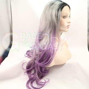Long Lace Front Synthetic Hair Wigs with Baby Hair