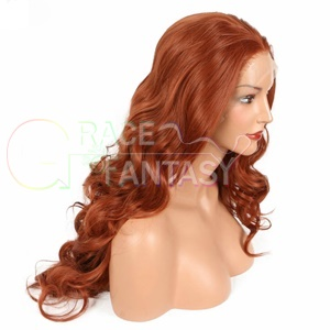 synthetic lace front wigs with baby hair