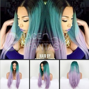 High Quality Straight Synthetic Hair
