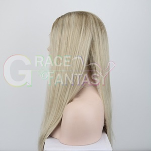 glueless synthetic lace front wig
