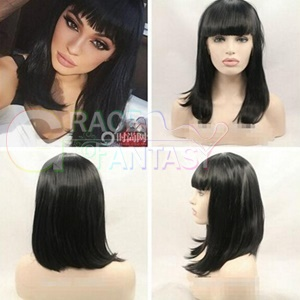 Straight Wigs Glueless Synthetic lace front wigs