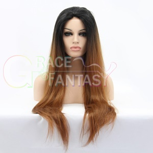 synthetic hair lace wigs