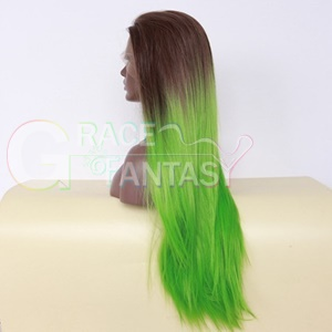 synthetic hair front lace wigs