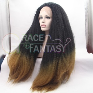 Long Straight Synthetic Lace Front Wigs