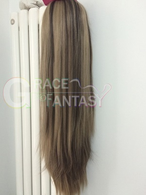 Natural Lace Wigs Bleached Knots