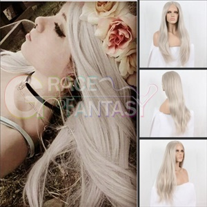 Grace Fantasy Grey Lace Front Wigs