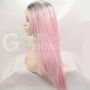 Rihanna hairstyle Synthetic wigs