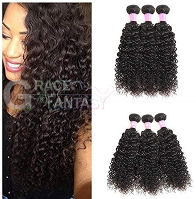 amazing celebrity hair extensions rihanna hairstyle afro kinky curly brazilian weave natural black color free shipping