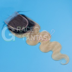 Blonde Top Hair Closures