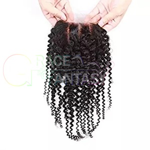 Malaysian Kinky Curly Hair Closures