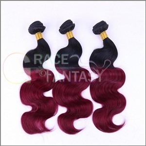 unprocessed #1b to 99J hair extensions human virgin body wave peruvian cuticles align