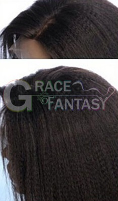 Full Lace Wigs Kinky Straight Women Wigs