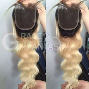 Blonde Peruvian Lace Front Closures